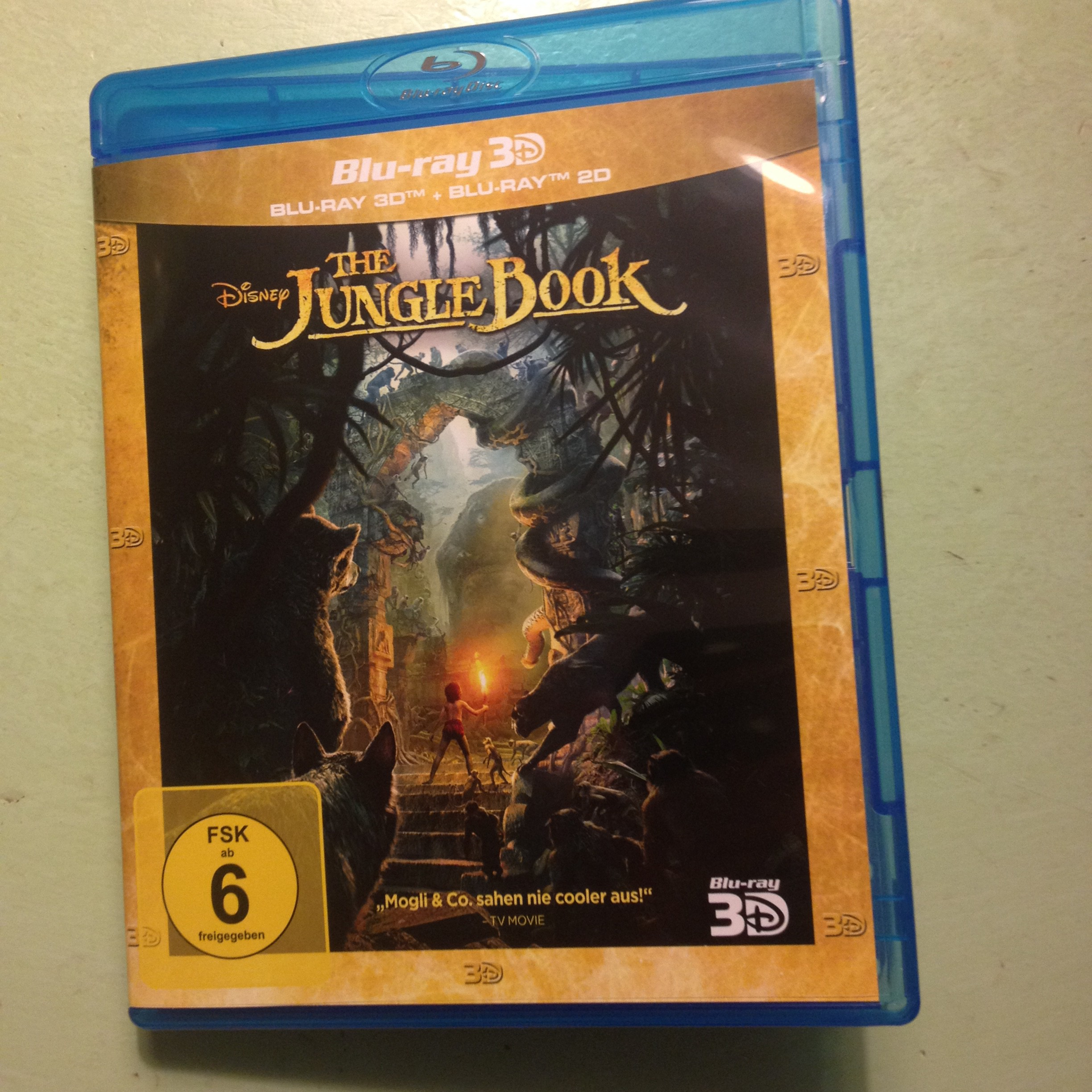The Jungle Book Blue Ray