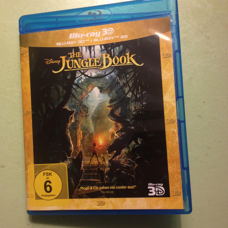 The Jungle Book Blue Ray