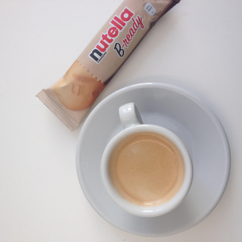 Espresso und Nutella