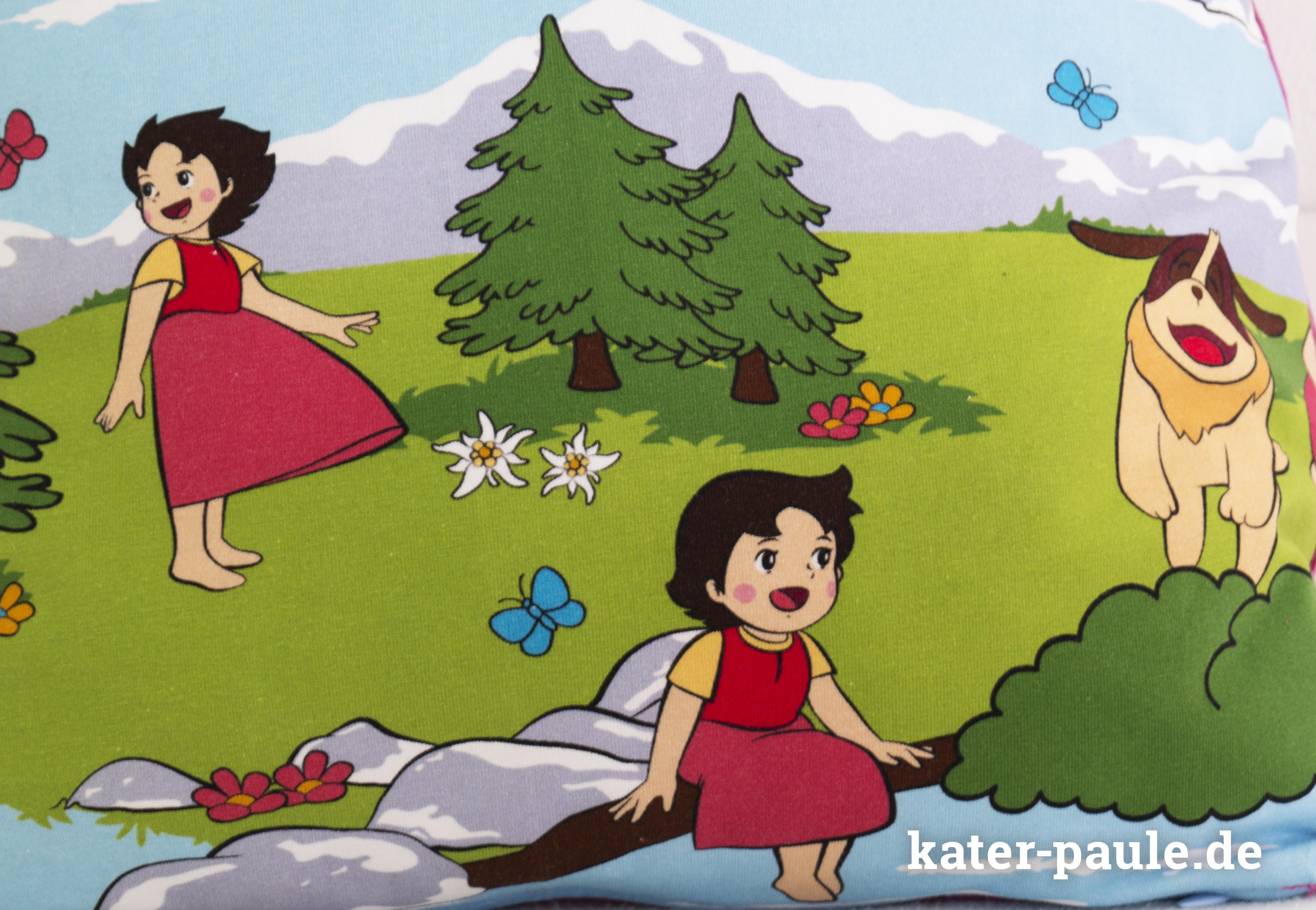 Heidi / Deine Welt sind die Berge / Kuschelkissen / Jersey / Interlock / Stoff & Liebe EP / Kater Paule / Nähgedöns